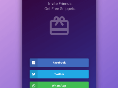 Social Share - Daily UI 010