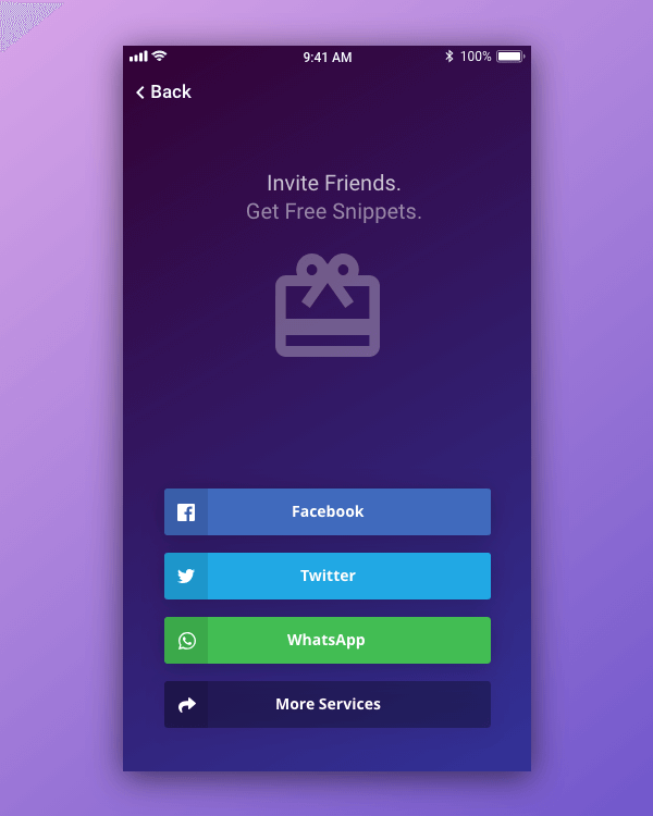 Social Share - Daily UI 010
