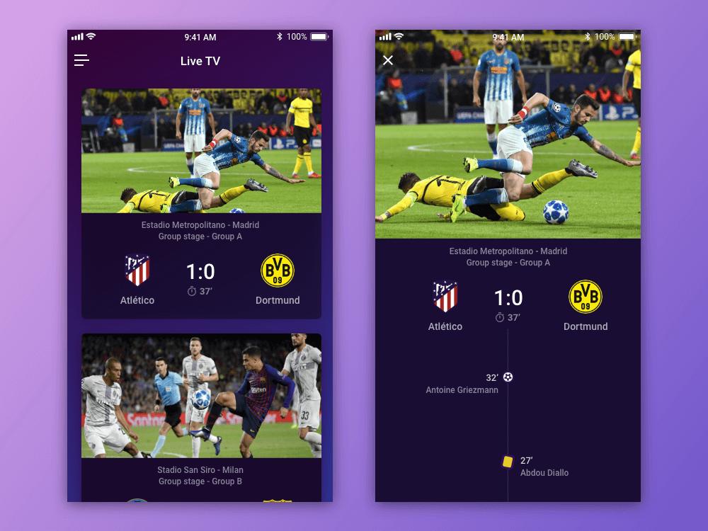 TV App - Daily UI #025