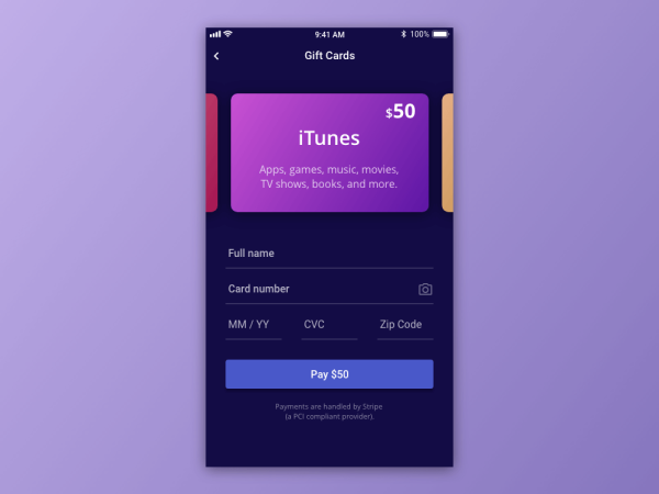 credit card checkout dailyui-002